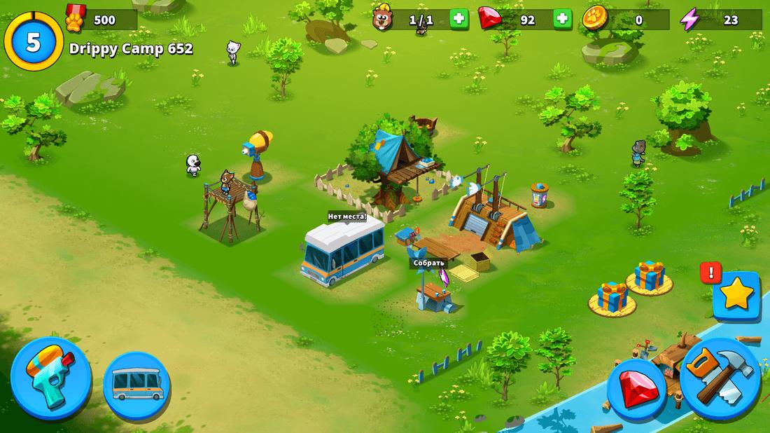 Скриншот #12 из игры Talking Tom Camp