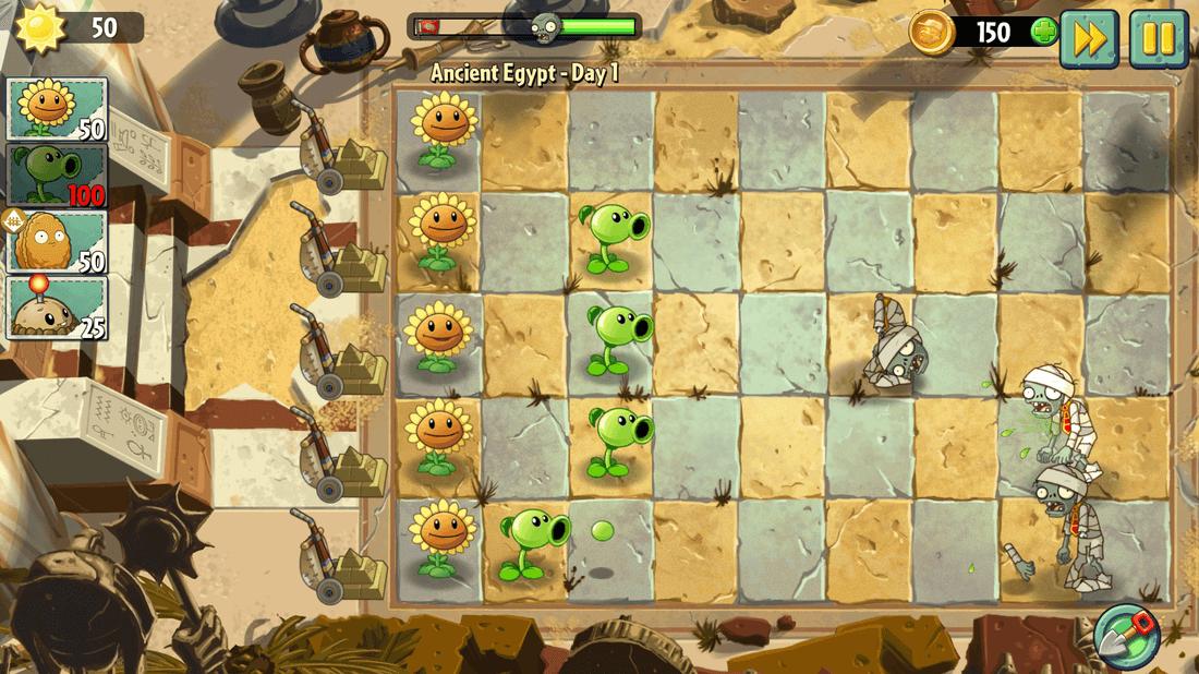 Скриншот #14 из игры Plants vs. Zombies 2