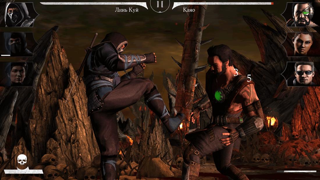 Скриншот #25 из игры MORTAL KOMBAT X