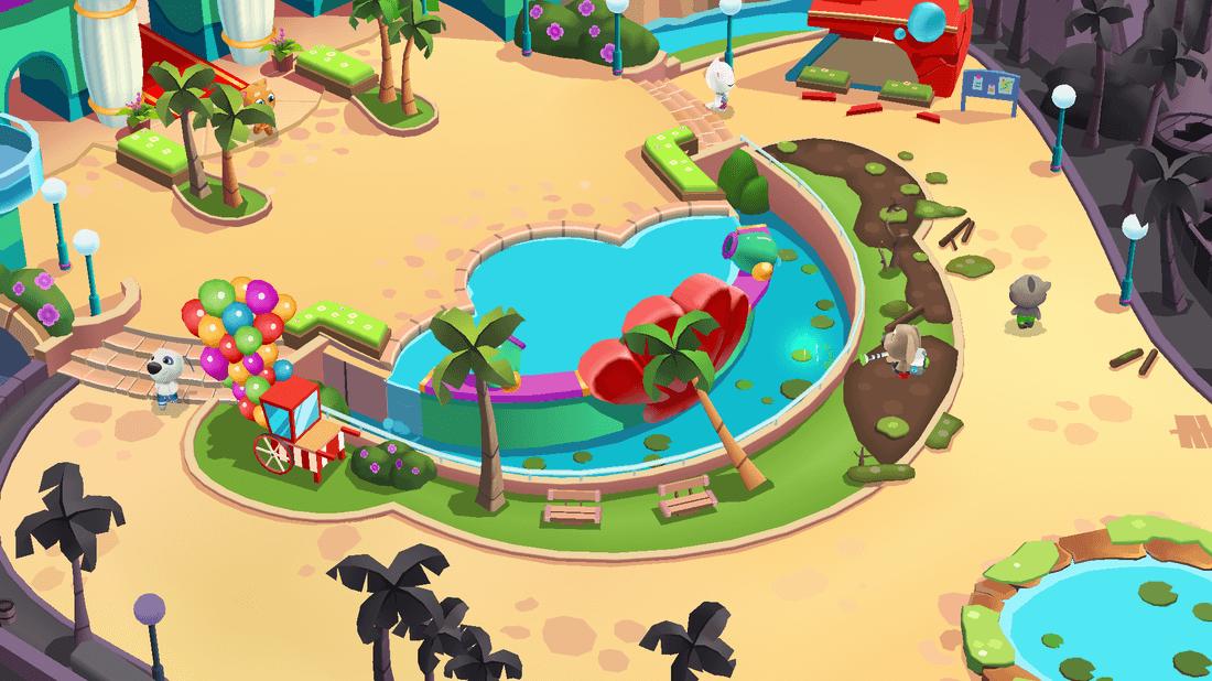 Скриншот #14 из игры Talking Tom Pool