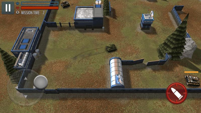 Скриншот #7 из игры Tank Battle: WW2 Game - Modern World of Shooting