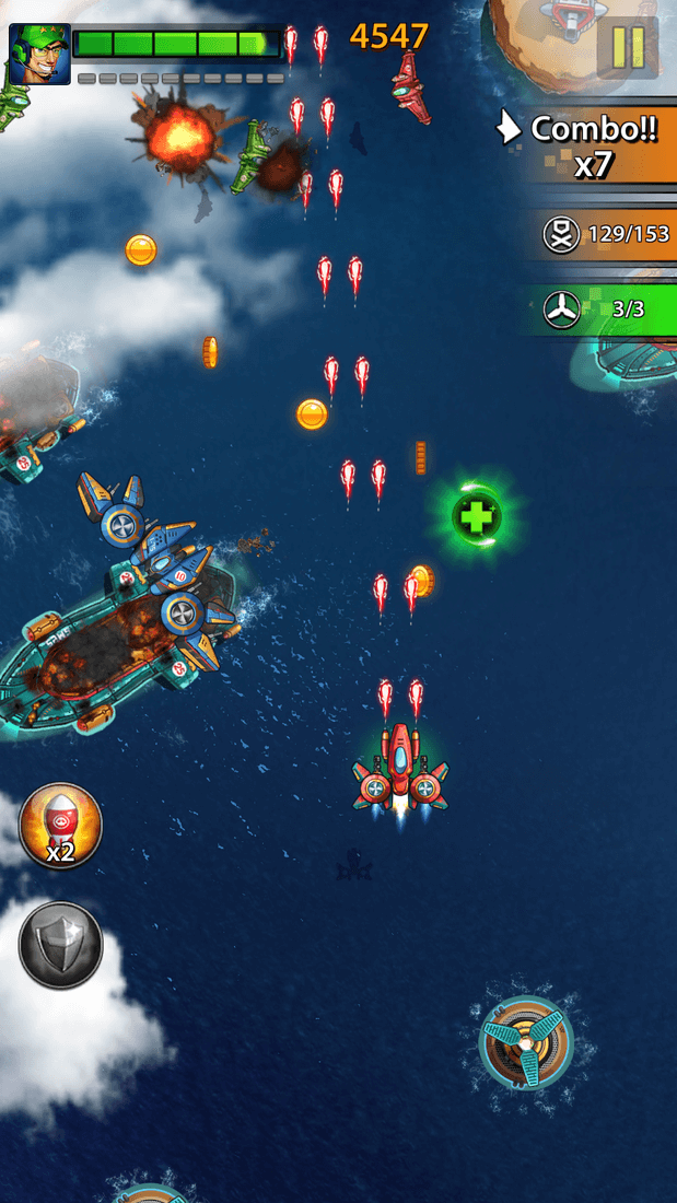 Скриншот #20 из игры Space X: Galaxy War of Air Force
