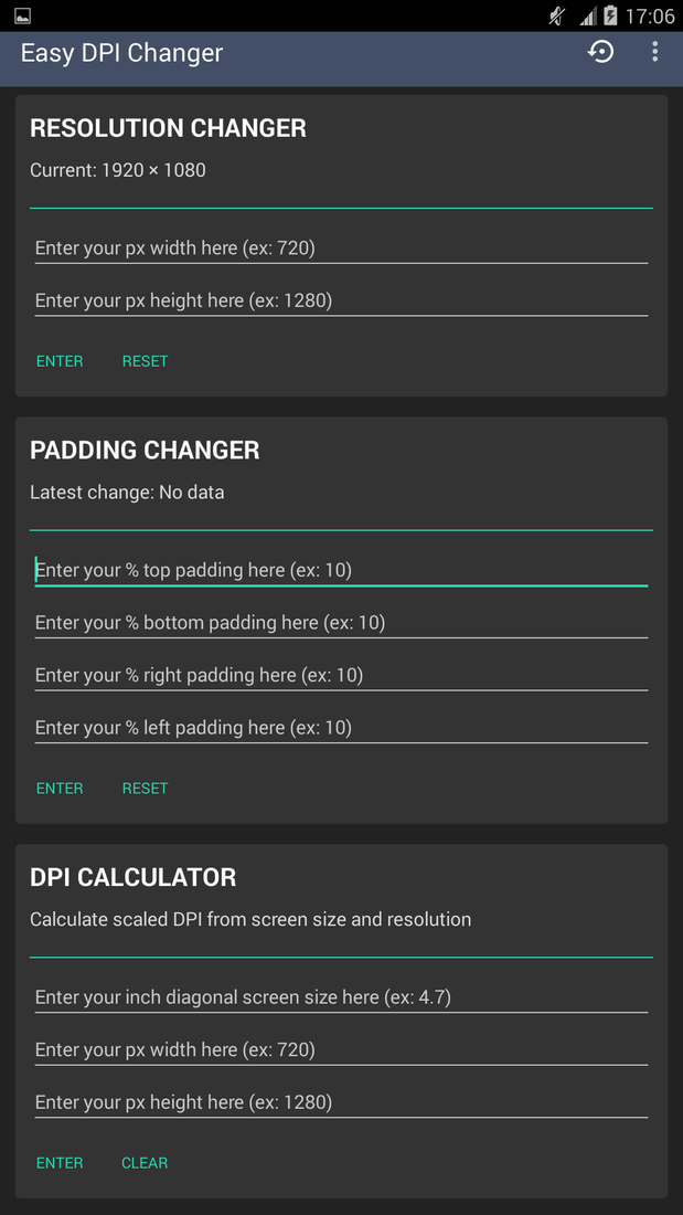 Скриншот #7 из программы Easy DPI Changer [Root]