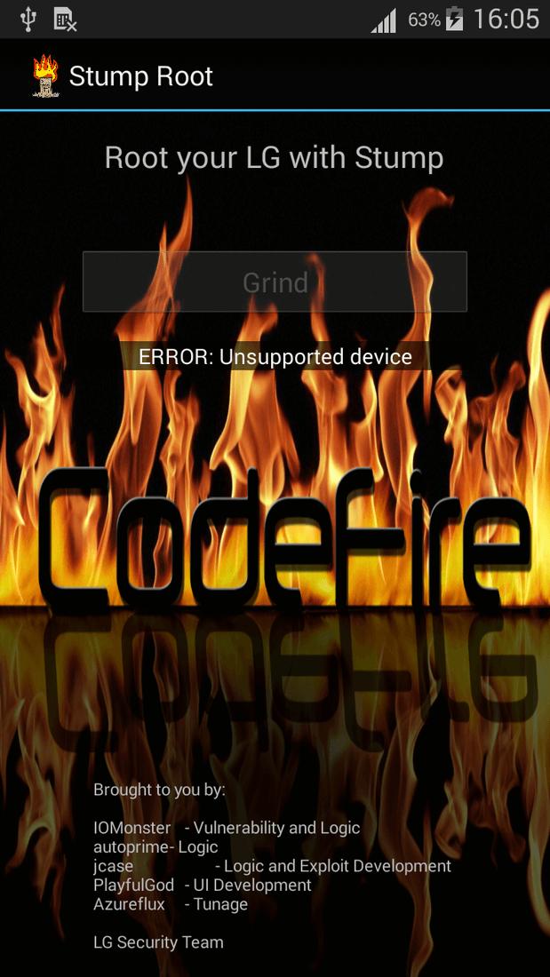 Скриншот #1 из программы Stump Root